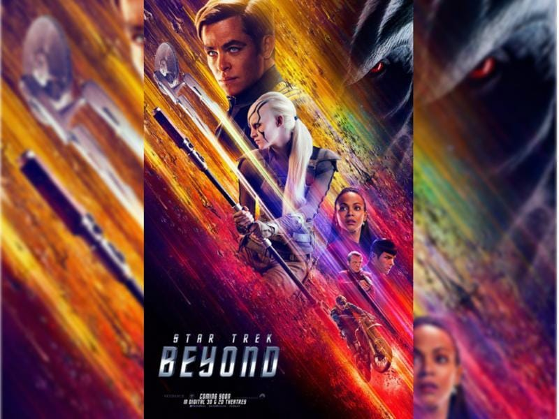 Star Trek Beyond (2016) - The USS Enterprise crew explores the furthest reaches of uncharted space, where they encounter a new ruthless enemy who puts them and everything the Federation stands for to the test. (Paramount Pictures)