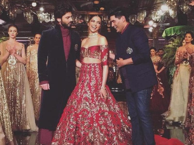 Manish Malhotra's couture shows are a highlight for anyone who's a fan of high-glamour bridal fashion and awards-season red carpet contenders.  (Instagram)