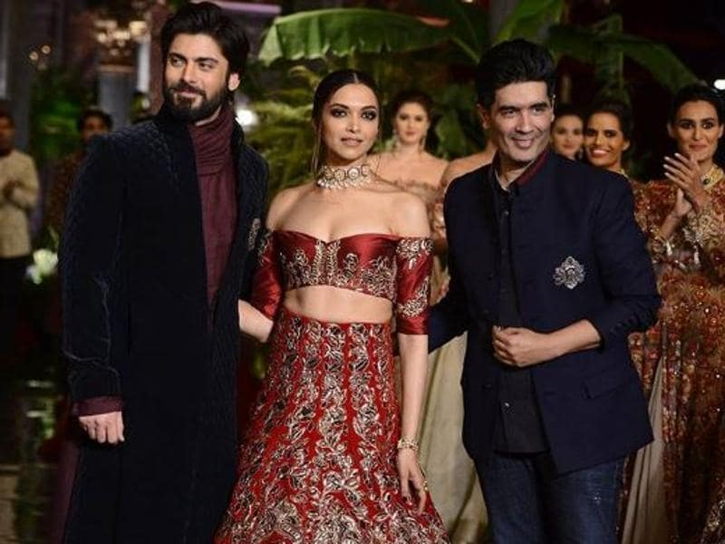 But when the stunning duo of actress Deepika Padukone and Pakistani actor in Bollywood Fawad Khan walked the ramp at the fashion week opener, our jaws dropped on the floor. Literally.  (Instagram)