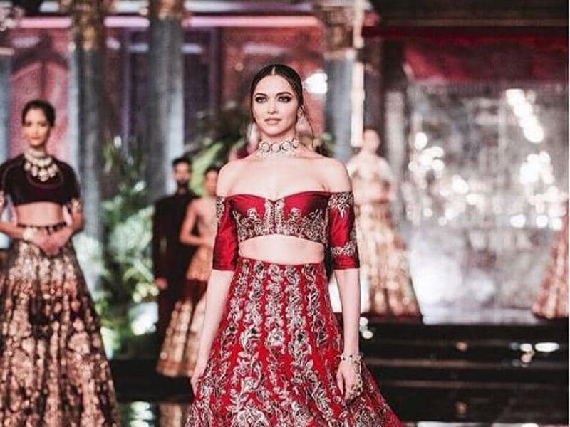 There were plenty of gems at Manish Malhotra, a go-to for many celebs because the designs are just so darn flattering.  And Deepika's high fashion look showed once again that Malhotra knows how to make things look just right. (Instagram)