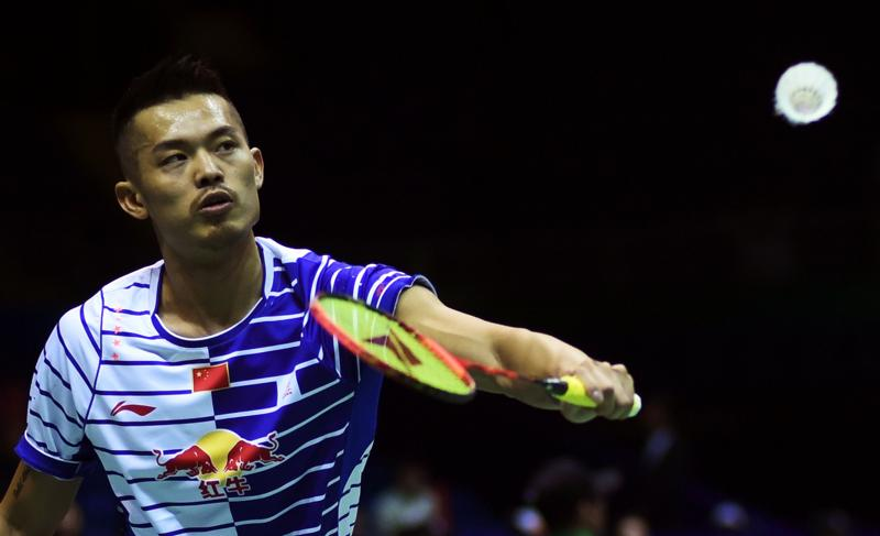 To many he is simply the greatest badminton player of all time – but Lin Dan's stunning performance at London 2012 raised his profile yet further. (AFP Photo)