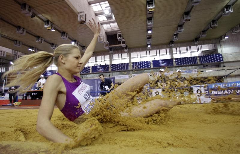 The International Association of Athletics Federations (IAAF) has rejected every Russian athlete except Darya Klishina from participating in international competitions. (AP Photo)