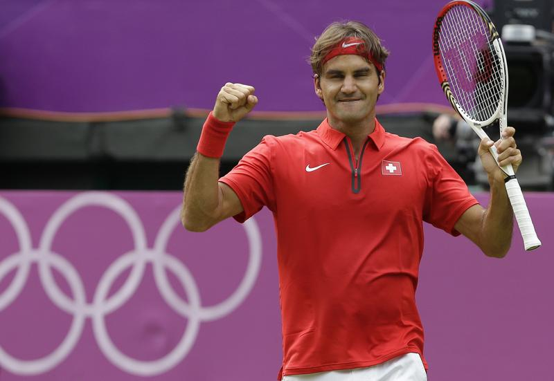 The Games occupy a special place in the heart of Roger Federer, the most successful men's tennis player of all time, and the Swiss has his sights firmly set on a golden Olympic swansong at Rio 2016. (AP Photo)