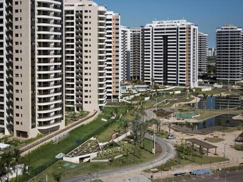 A general view of the Olympic Village in Rio de Janeiro. (Reuters Photo)