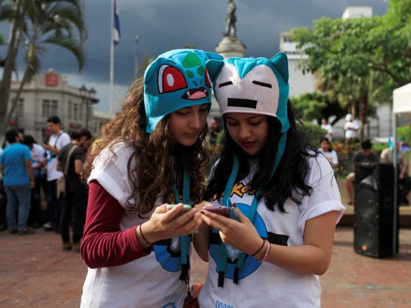 Recently, a 24-year-old New Zealander, Tom Currie, quit his job in Auckland to become a full-time Pokémon hunter. He is soon to take a two-month tour of New Zealand to capture all the Pokémon released on the app so far. (REUTERS)