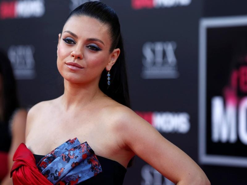 Mila Kunis poses at the premiere of Bad Moms, the new comedy film by the writers of The Hangover in Los Angeles, California. (REUTERS)