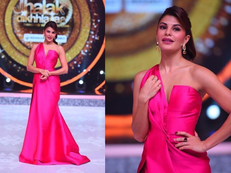 The latest season of one of Indian TV's most-awaited dance reality show has the stylish Bollywood actress Jacqueline Fernandez as one of its three judges.  She will also be performing on a mash up of her hit numbers- Chittiyan Kalaiyaan and Marjwa in the episode. (COLORS)