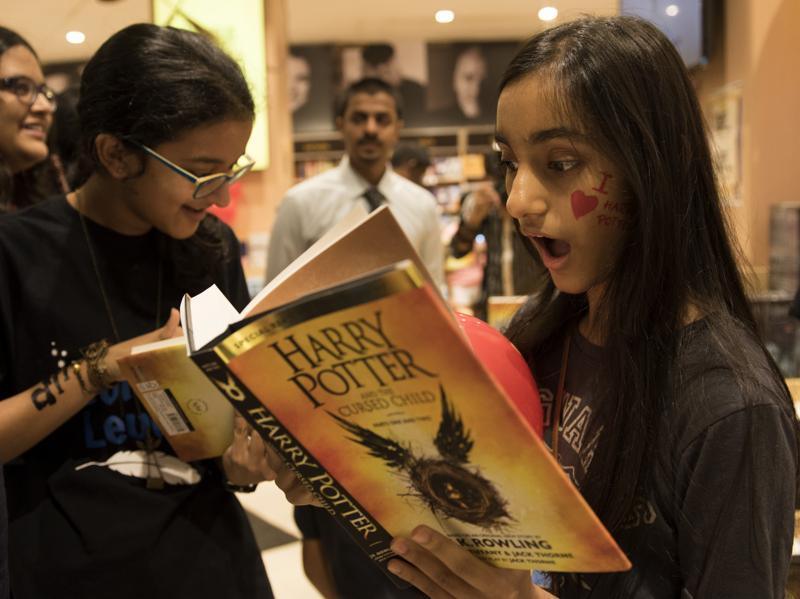 Calm your fears, Harry Potter and the Cursed Child is the eighth book, and it will devour you.  (Satish Bate/HT Photo)