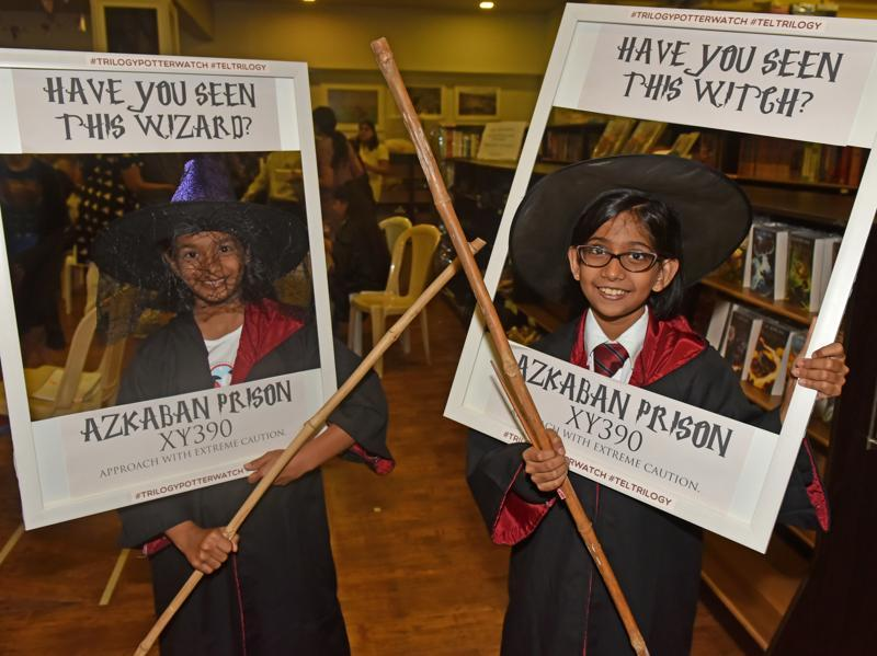 The book will stir your soul and ignite the delirious joy of returning to the world of Harry Potter again.  (Vidya Subramanian/HT Photo)