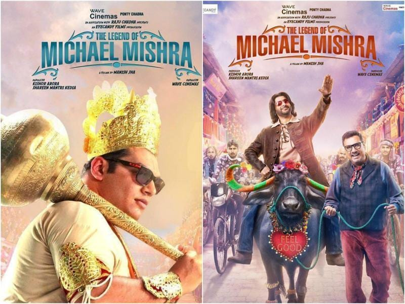 The Legend of Michael Mishra is a comedy starring Arshad Warsi, Aditi Rao Hydari, Boman Irani and Kayoze Irani. It has been written and directed by Manish Jha. (Thelegendofmichaelmishra/Facebook)