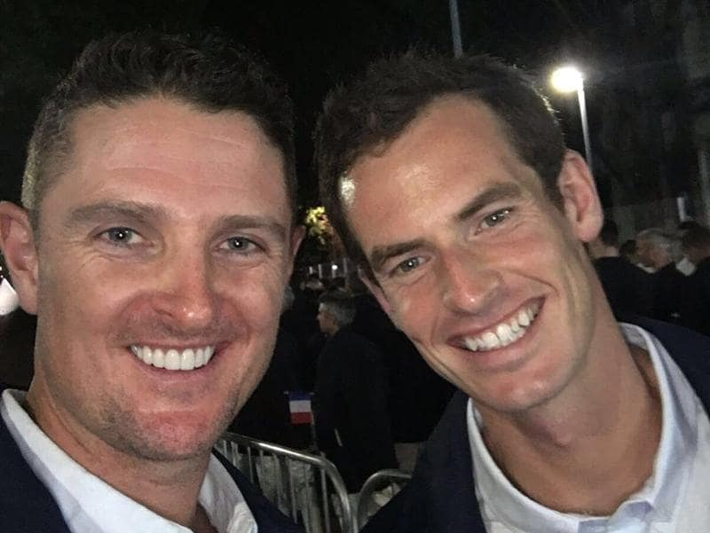 "Great Britain golfer Justin Rose found the time to click a selfie with Andy Murray. ""Hanging with @andy_murray before the #OpeningCeremony What an amazing experience that was with @TeamGB #GBR,"" He wrote on Twitter."