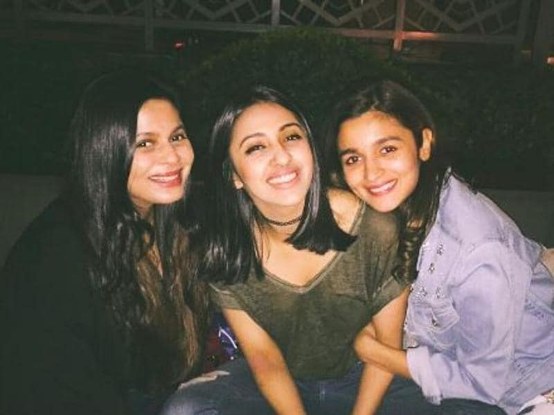 Alia Bhatt celebrated her friendship day with her sister and BFF. (Instagram)
