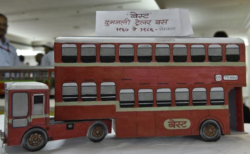 A BEST double-decker trailer bus that ran from 1967 to 1986. (ANSHUMAN POYREKAR)