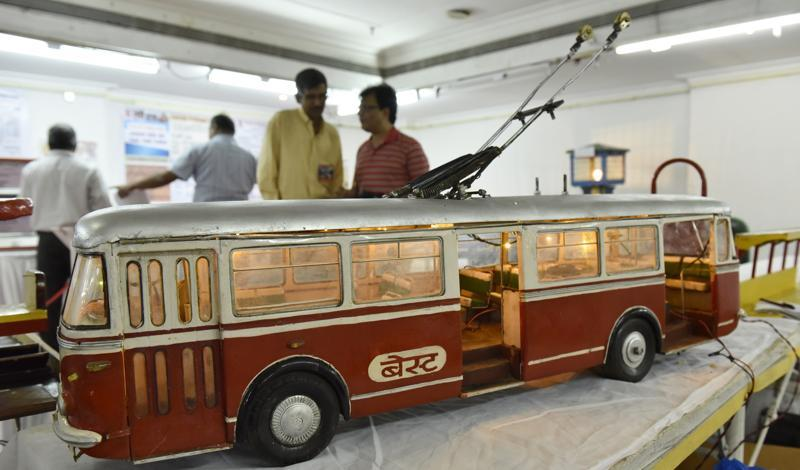 A trolley bus that plied the streets of Mumbai between 1962 and 1971. (ANSHUMAN POYREKAR)