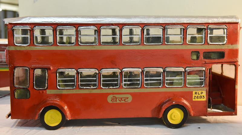The contemporary double-decker bus.  (ANSHUMAN POYREKAR)