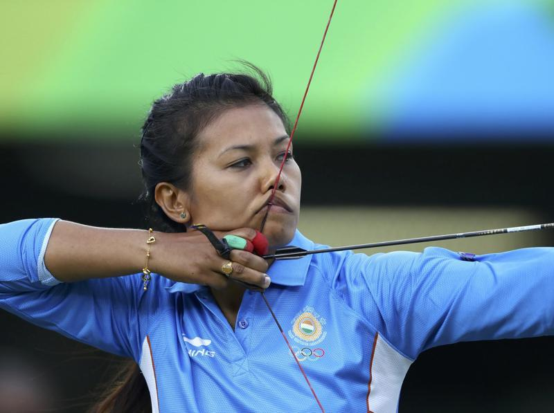 The India women's archery team suffered a heartbreak in the shoot-off to decide the quarterfinal encounter against World champions Russia at the Olympic Archery Arena, where star performer Laishram Bombayla Devi's nerves betrayed her. (REUTERS)