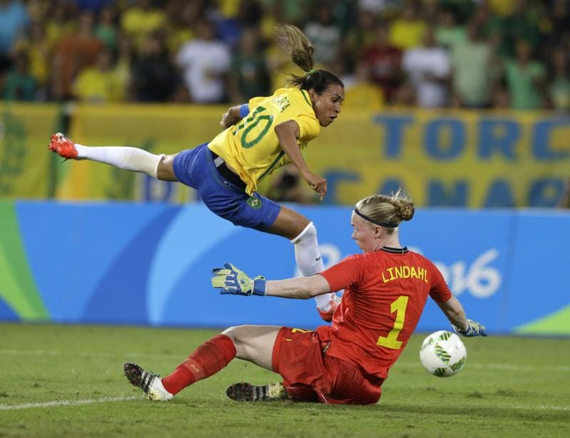 However, with skills like hers, marking Marta out is easy planned than executed. With wins over China and Sweden, Brazil women are already in the quarterfinals while Neymar and Co are still searching for their first goal. (AP)