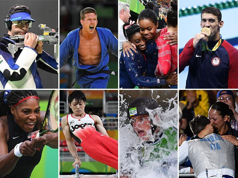 Day three of the Rio 2016 Olympics featured more records, grudge matches.