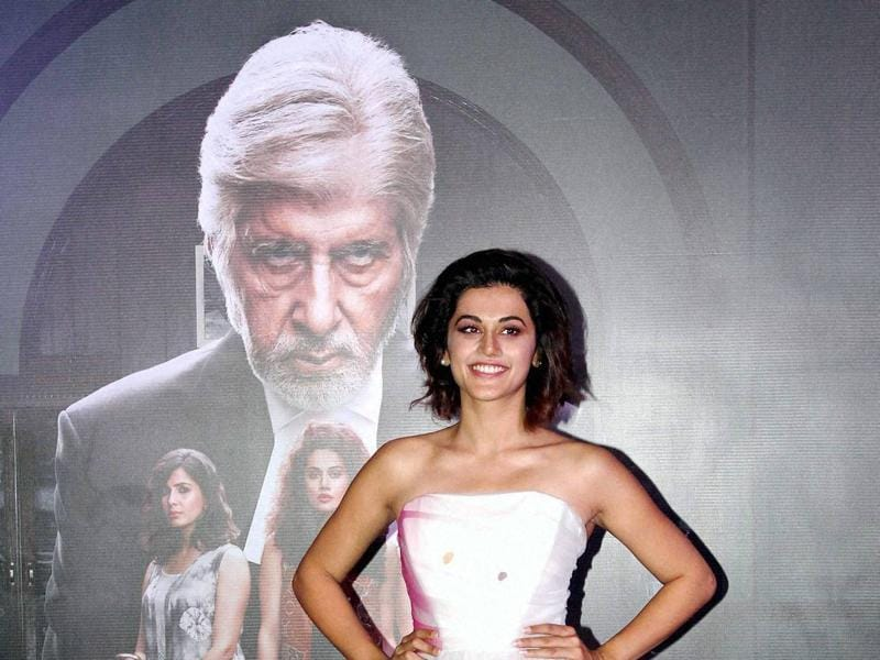 Taapsee Pannu plays the lead role in Pink. (PTI)
