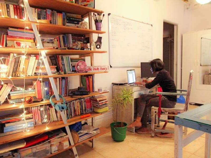 Harkat Studios in Andheri caters to freelancers and has a living-room feel