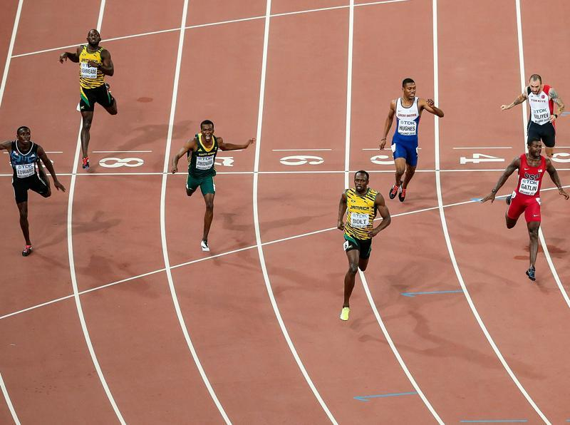 Bolt was a flop at Athens 2004, his first Olympics, as a hamstring injury saw him eliminated in the 200m heats. But in Bejing he broke the world marks both the 100m and 200m events — winning the 100m in 9.69sec and then clocking 19.30sec in 200m, bettering Michael Johnson's record of 19.32. He also helped break the 4x100m world record as an icing on the cake. (Getty Images )
