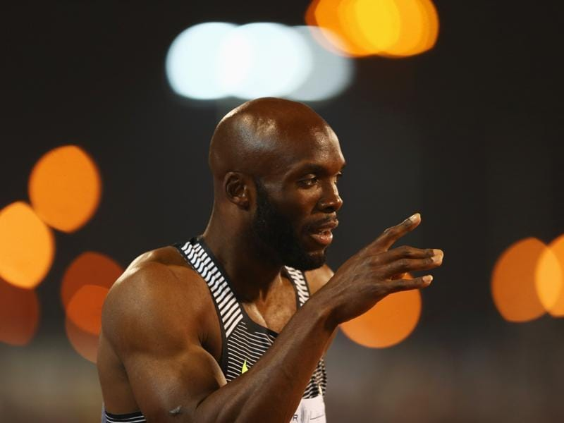 Like his teammate Gatlin in 100m, it is USA's LaShawn Merritt, who has recorded the best time of the year in 200m at the US trial as he clocked 19.74 seconds. But can he beat Bolt? LaShawn's real class, though, will show in the 400 metres where he will want to reinstate his superiority after he failed to win gold in London. (Getty Images)
