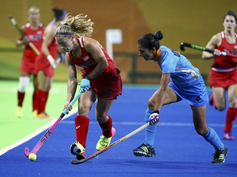 The Indian women's hockey team continued their dismal campaign, suffering a 0-3 defeat to USA in a Pool B encounter. (REUTERS)