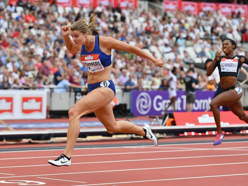 But in the 200m dash, Schippers is the clear-cut favourite as she won the gold at the 2015 World Championships in Beijing. (Getty Images)