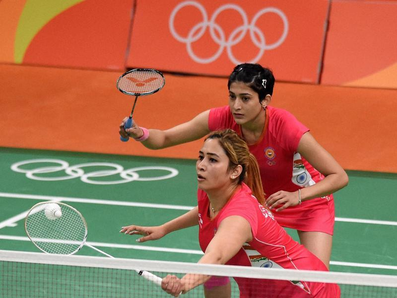 Commonwealth Games gold medallist duo of Jwala Gutta and Ashwini Ponnapa lost their opening Group A match against top seeds Ayaka Takahashi and Misaki Matsutomo of Japan in straight games 15-21, 10-21. (PTI)