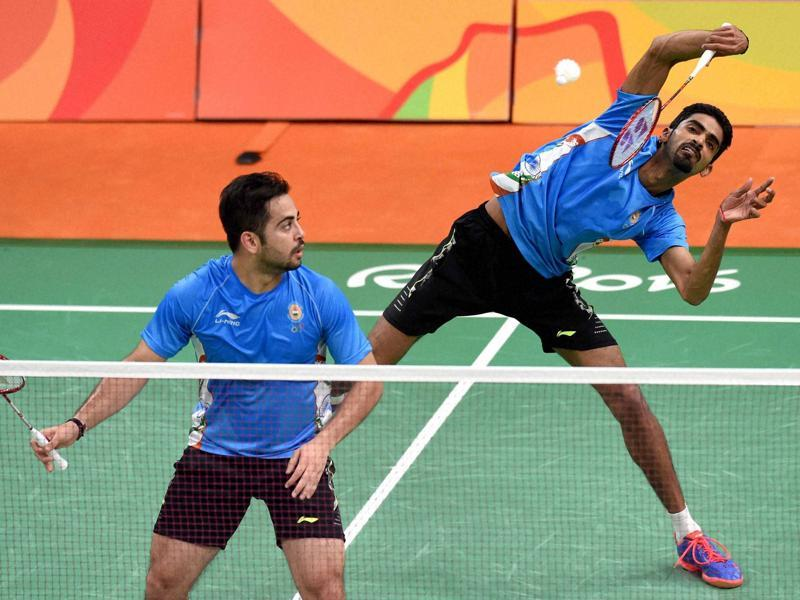 The World No.21 Indian pair of Manu Attri and B. Sumeeth Reddy also lost their opening Group D match against the second seeded pair of Mohammad Ahsan and Hendra Setiawan of Indonesia in straight games 18-21, 13-21. (PTI)