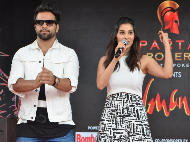 The presence of actors Sophie Choudry and Rithvik Dhanjani only added to the star ensemble at the college fest.  (IANS)