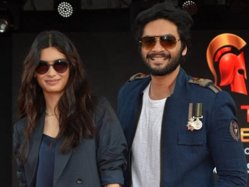 Actors Diana Penty and Ali Fazal, who will be seen together in Happy Bhag Jayegi, also attended the event to promote the movie. (IANS)