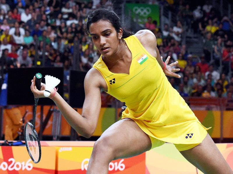 After wining the first game, it appeared the day might belong to PV Sindhu, but Marin came back strong. (Atul Yadav/PTI)