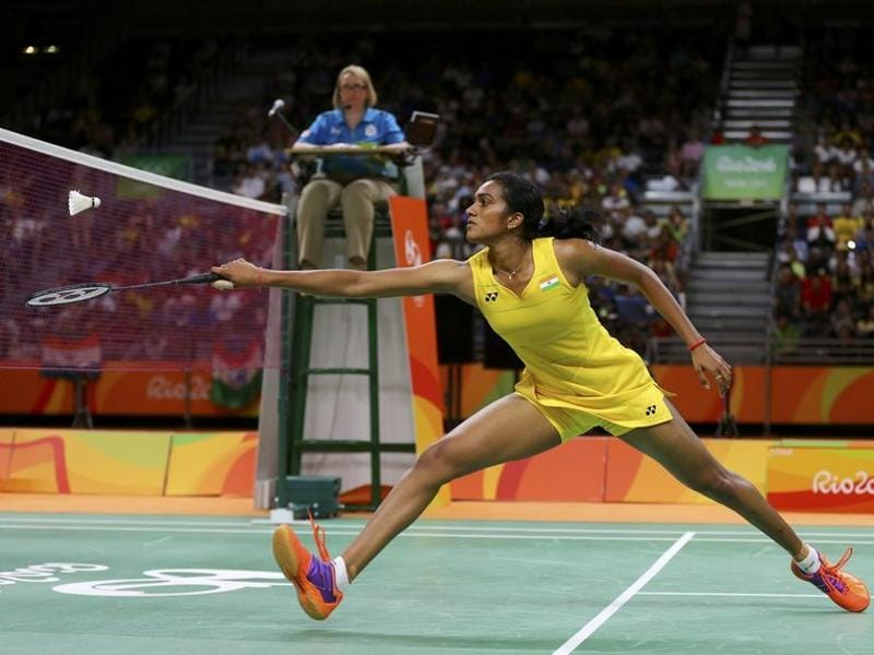 Though Carolina Marin maintained a cushion of at least three points in much of the second and final games, PV Sindhu was hardly a pushover. In the second game, she came back from a 4-9 deficit to match Marin 10-10. (REUTERS)