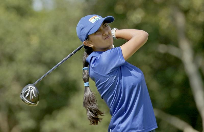 Aditi is the youngest golfer participating in Rio Games. She started learning golf at 5 and ½ years and played first round at 6 years 2 months. Her home club is Bangalore Golf Club, also practices at the Karnataka Golf Association. (REUTERS)