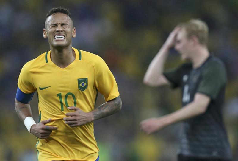 Soon after the win, Neymar announced his decision to step down as Brazil captain. (REUTERS)