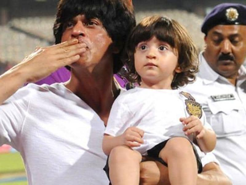 "Superstar Shah Rukh Khan's youngest son, AbRam (after Aryan (19) and Suhana (16)) was born in 2013 through IVF surrogacy. ""Amidst all the noise that has been going around, the sweetest is the one made by our newborn baby, AbRam. He was born prematurely by several months, but has finally come home,"" Shah Rukh had said through a statement. (Twitter)"
