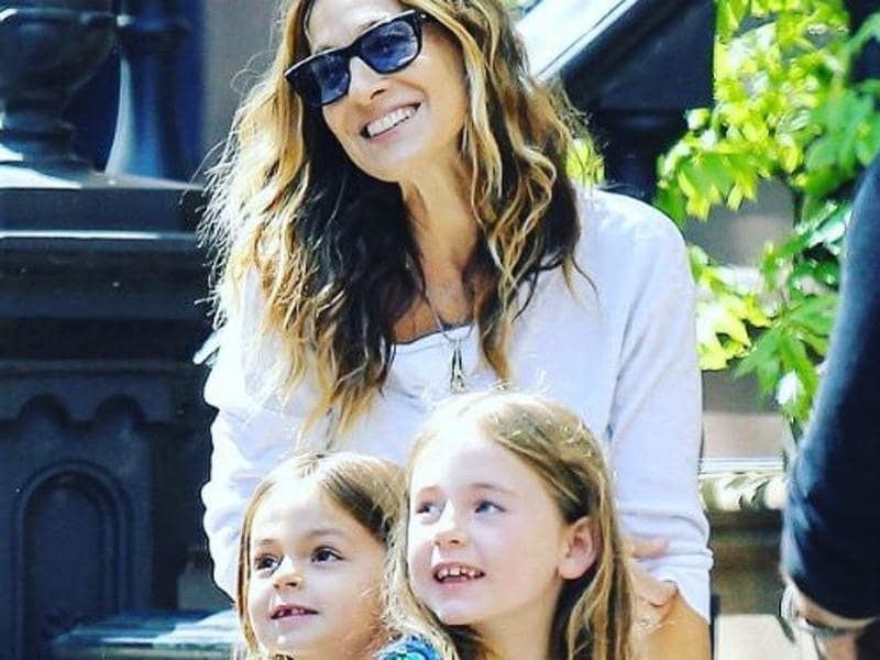 Sex and the City star Sarah Jessica Parker already had a son in 2002 but was unable to get pregnant again. She opted for gestational surrogacy in 2009 when her twin daughters Marion and Tabitha were born. (TWitter)
