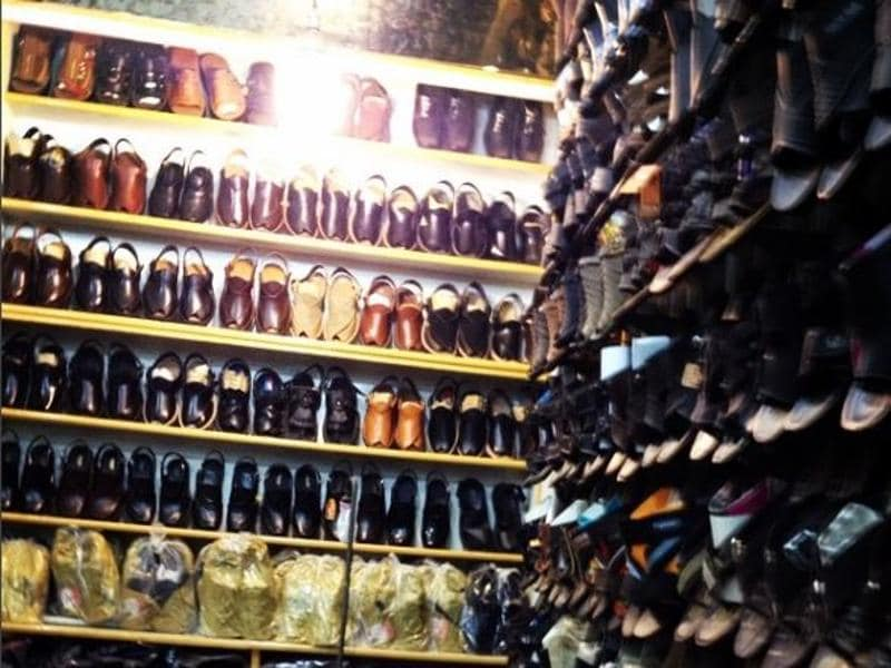 It is also a busy bazaar known for its good food and wide range of Khussa (traditional Mughal footwear) . (baig_aadi/INSTAGRAM)