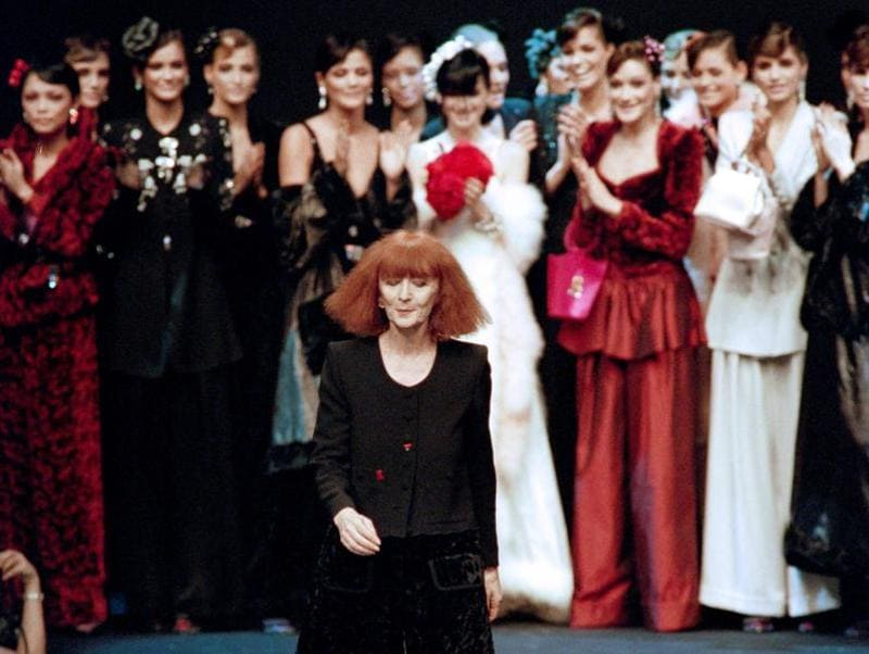 It's hard to think of a world without Sonia Rykiel. (AFP)