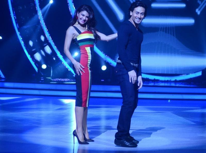 Tiger Shroff and Jacqueline Fernandez went all out to promote their recently released film, A Flying Jatt. The actors were seen on the sets of various television shows. (IANS)