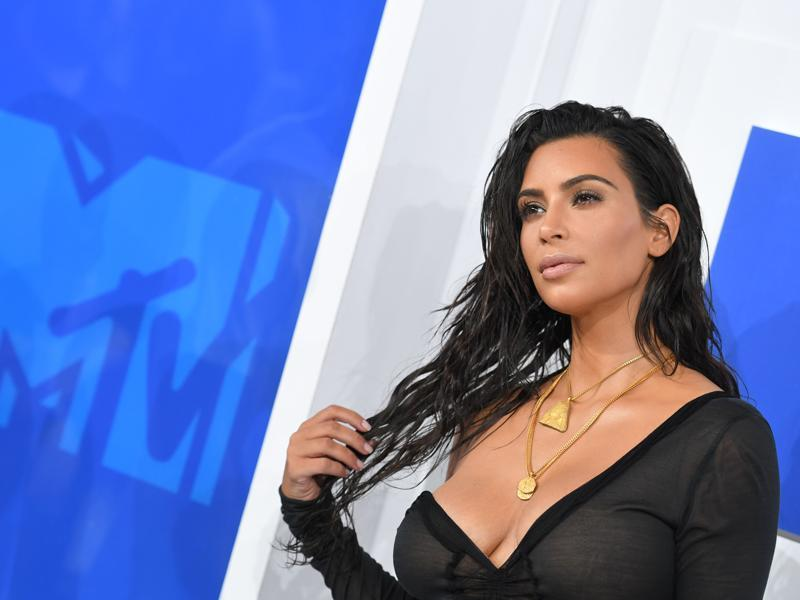 Kim Kardashian West attends the 2016 MTV Video Music Awards on August 28, 2016 at Madison Square Garden. (AFP)