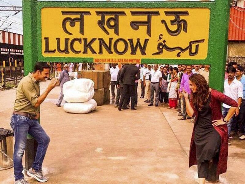 Akahay Kumar and Huma Qureshi started shooting for Jolly LLB 2 in Lucknow. (PTI)
