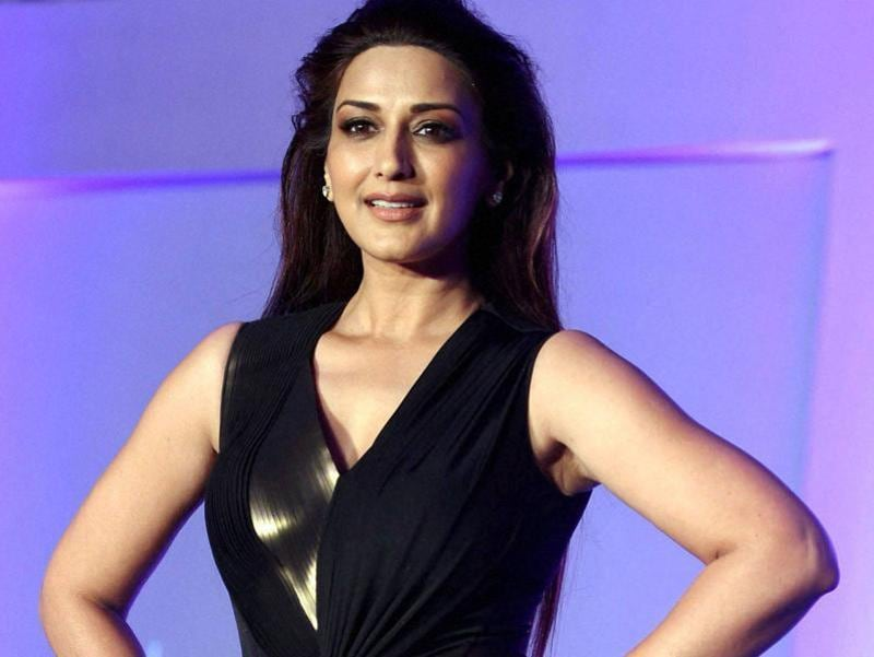 Sonali dedicates most of her time to home and rarely does films these days. (PTI)