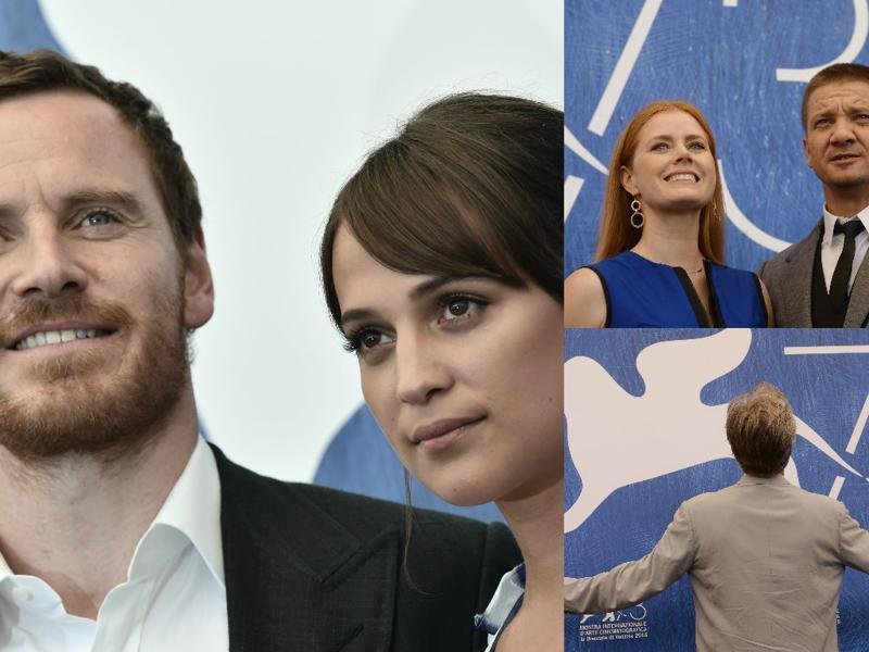 Michael Fassbender and Alicia Vikander premiered their film The Light Between Oceans and Jeremy Renner and Amy Adams brought with them their film Arrival.