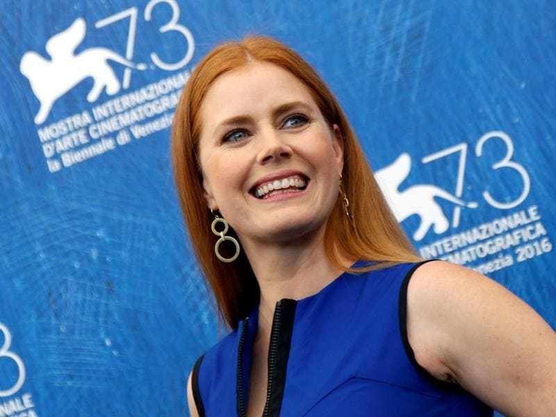 Actress Amy Adams attends the photocall for director Denis Villeneuve's science fiction movie Arrival at the 73rd Venice Film Festival. (REUTERS)