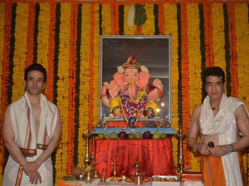 Ganesh Chaturthi has always been a big occasion for Jeetendra and his family. (IANS)