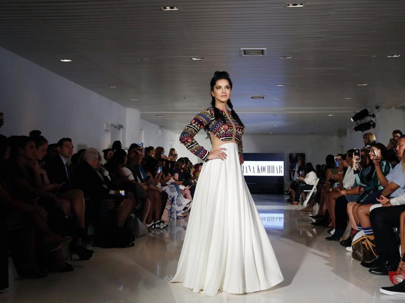 "Archana Kochhar's Spring/Summer 2017 collection during New York Fashion Week, called ""A Tale of Two Cities,"" was inspired by the breathtaking Taj Mahal and the rich, buoyant colours of magnificent India. (REUTERS)"
