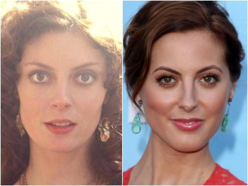 Her eyes, check. Her nose, check. Her lips, check. Susan Sarandon's daughter is Eva Amurri is just as pretty as her. (Instagram/Shutterstock)