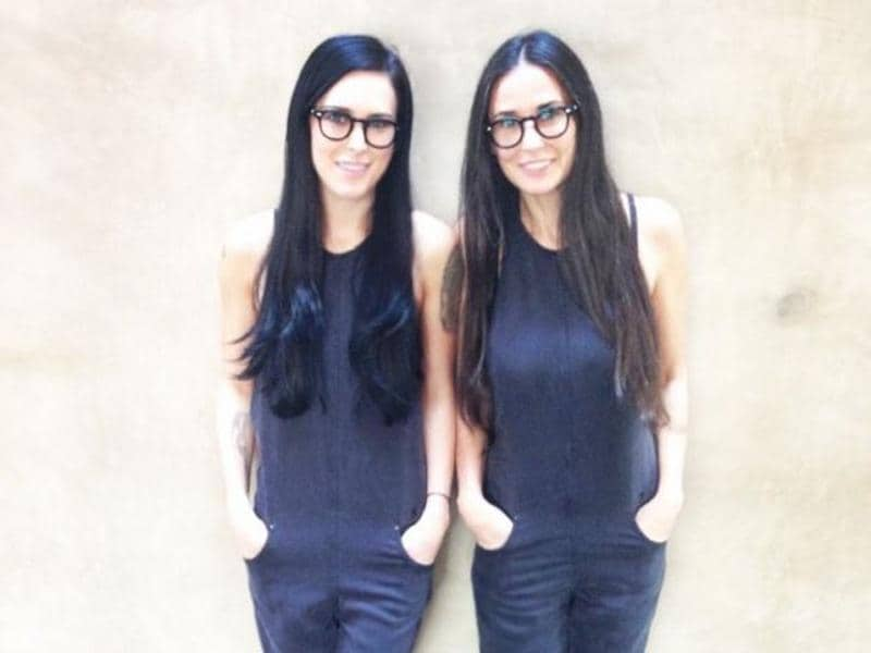 Demi Moore and her daughter Rumer need to stop confusing the world. (Instagram)